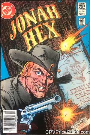 jonah hex 76 cpv canadian price variant image