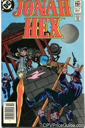 Jonah Hex #77 75¢ Canadian Price Variant Comic Book Picture