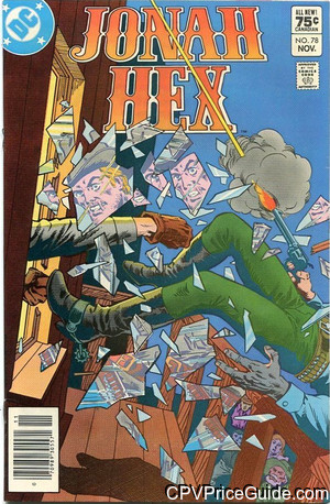 jonah hex 78 cpv canadian price variant image