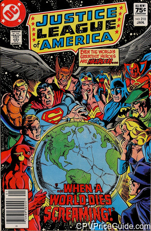 justice league of america 210 cpv canadian price variant image