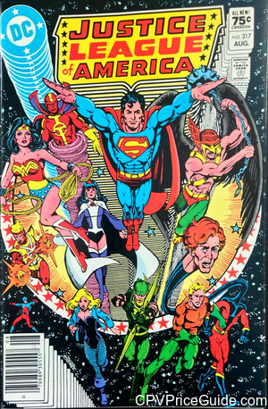 justice league of america 217 cpv canadian price variant image