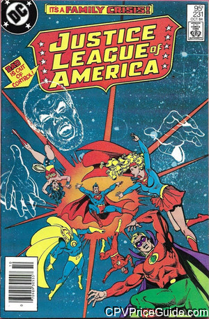 justice league of america 231 cpv canadian price variant image