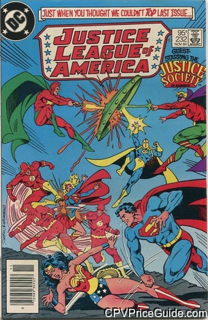 justice league of america 232 cpv canadian price variant image