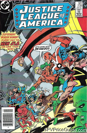 justice league of america 238 cpv canadian price variant image