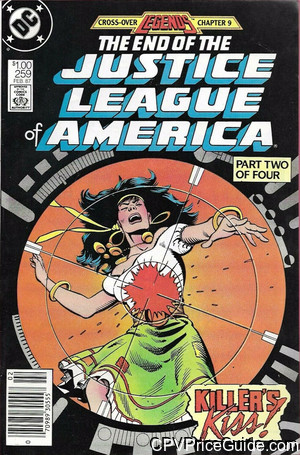 justice league of america 259 cpv canadian price variant image