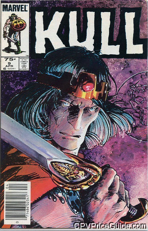 Kull the Conqueror #9 75¢ Canadian Price Variant Comic Book Picture
