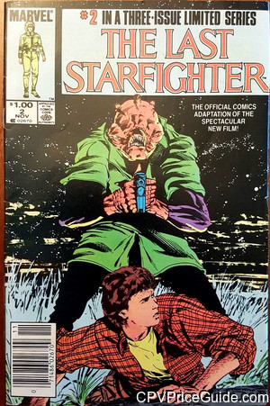 Last Starfighter #2 $1.00 Canadian Price Variant Comic Book Picture