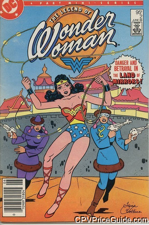 Legend of Wonder Woman #2 95¢ Canadian Price Variant Comic Book Picture