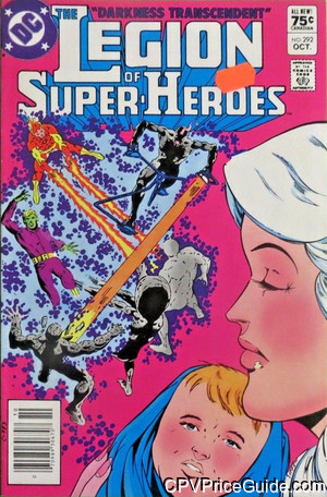 Legion of Super-Heroes #292 75¢ Canadian Price Variant Comic Book Picture