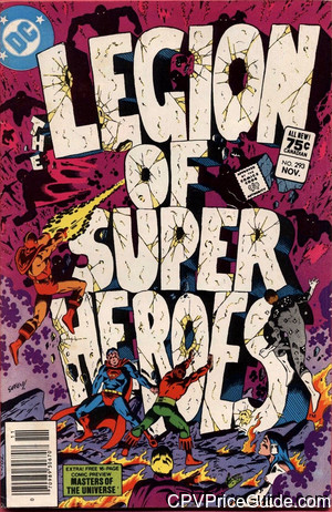 legion of super heroes 293 cpv canadian price variant image