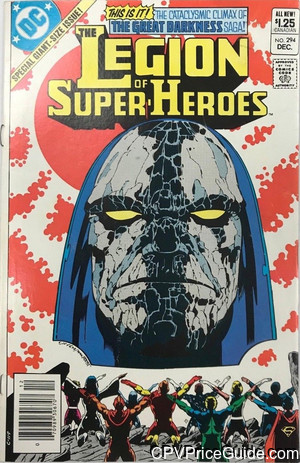 legion of super heroes 294 cpv canadian price variant image