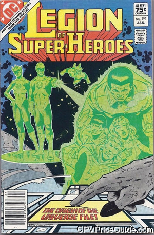 legion of super heroes 295 cpv canadian price variant image