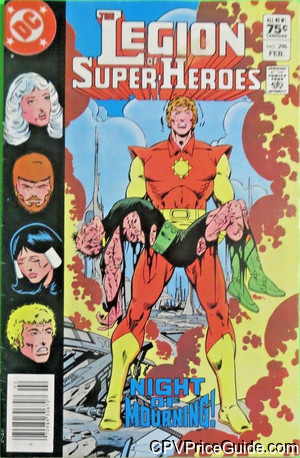 legion of super heroes 296 cpv canadian price variant image