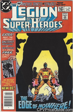 Legion of Super-Heroes #298 75¢ Canadian Price Variant Comic Book Picture