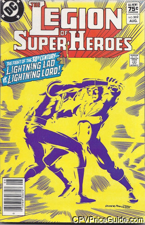 legion of super heroes 302 cpv canadian price variant image
