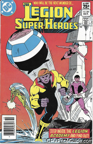 legion of super heroes 304 cpv canadian price variant image