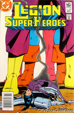 legion of super heroes 305 cpv canadian price variant image