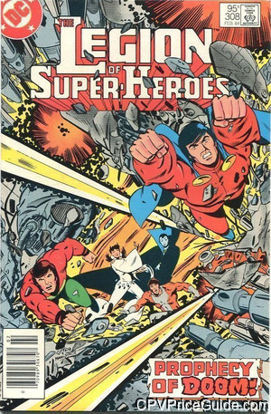 legion of super heroes 308 cpv canadian price variant image