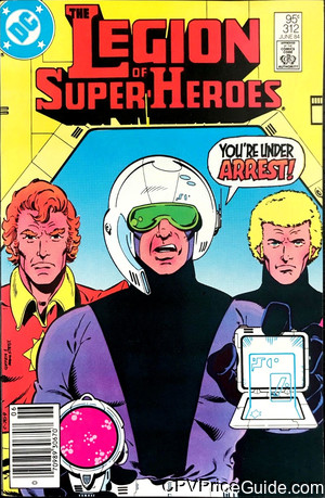 legion of super heroes 312 cpv canadian price variant image