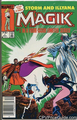 Magik #1 75¢ Canadian Price Variant Comic Book Picture