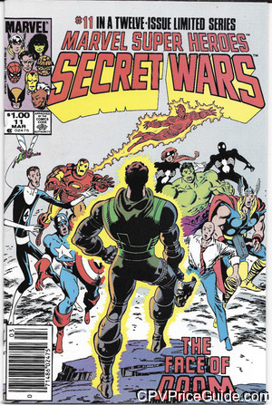 marvel super heroes secret wars 11 cpv canadian price variant image