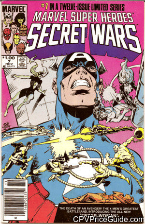 marvel super heroes secret wars 7 cpv canadian price variant image