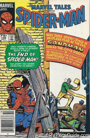 Marvel Tales #156 75¢ Canadian Price Variant Comic Book Picture