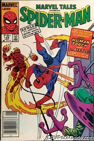 Marvel Tales #159 75¢ Canadian Price Variant Comic Book Picture