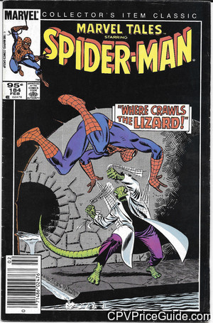 marvel tales 184 cpv canadian price variant image