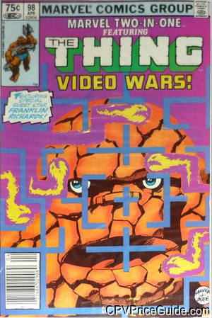marvel two in one 98 cpv canadian price variant image