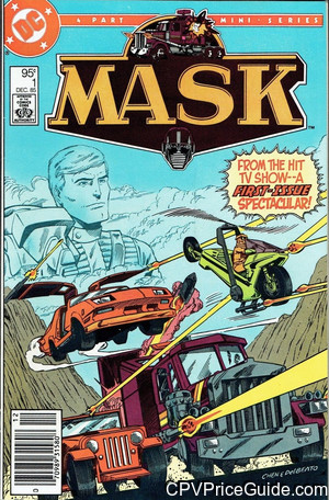 Mask Vol 1 #1 95¢ Canadian Price Variant Comic Book Picture