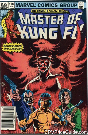 master of kung fu 118 cpv canadian price variant image