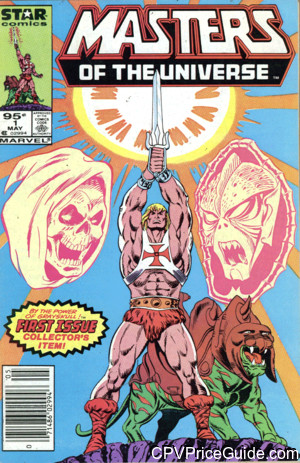 Masters of the Universe #1 95¢ Canadian Price Variant Comic Book Picture