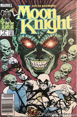 Moon Knight Fist of Khonshu #3 75¢ Canadian Price Variant Comic Book Picture