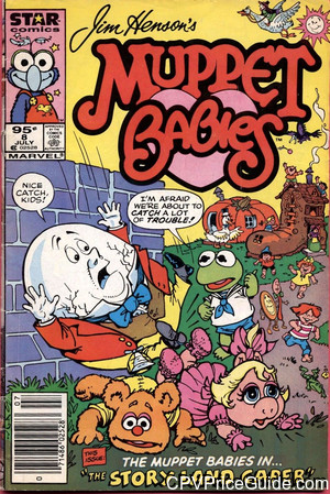 muppet babies 8 cpv canadian price variant image