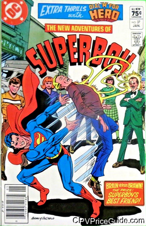 new adventures of superboy 37 cpv canadian price variant image