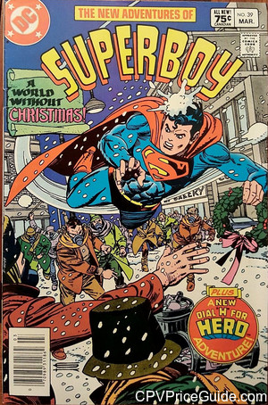 new adventures of superboy 39 cpv canadian price variant image