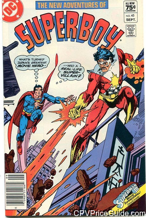 new adventures of superboy 45 cpv canadian price variant image