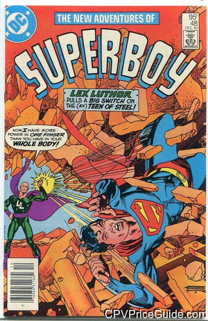 new adventures of superboy 48 cpv canadian price variant image