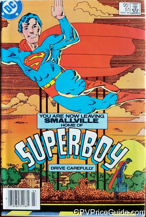new adventures of superboy 51 cpv canadian price variant image