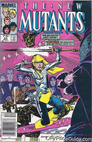 new mutants 34 cpv canadian price variant image