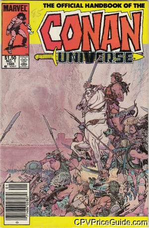 official handbook of the conan universe 1 cpv canadian price variant image