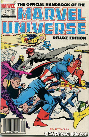 official handbook of the marvel universe vol 2 2 cpv canadian price variant image
