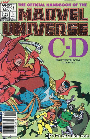official handbook of the marvel universe 3 cpv canadian price variant image