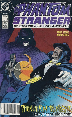 Phantom Stranger #3 $1.00 Canadian Price Variant Comic Book Picture