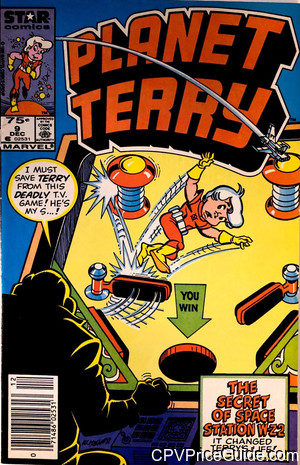 Planet Terry #9 75¢ Canadian Price Variant Comic Book Picture