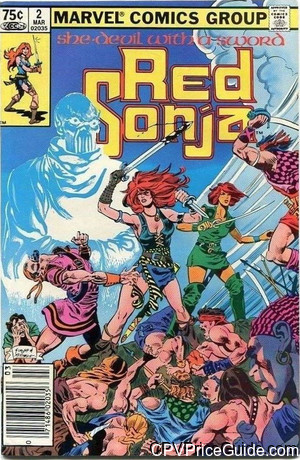red sonja she devil 2 cpv canadian price variant image
