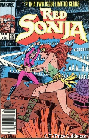 Red Sonja The Movie #2 $1.00 CPV Comic Book Picture