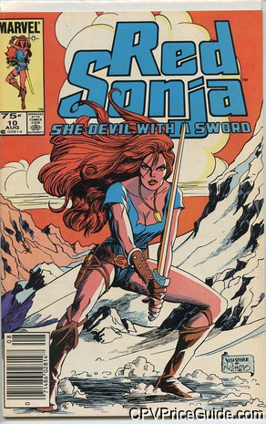 red sonja 10 cpv canadian price variant image