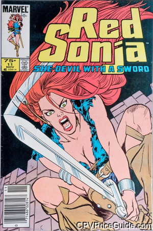 red sonja 11 cpv canadian price variant image